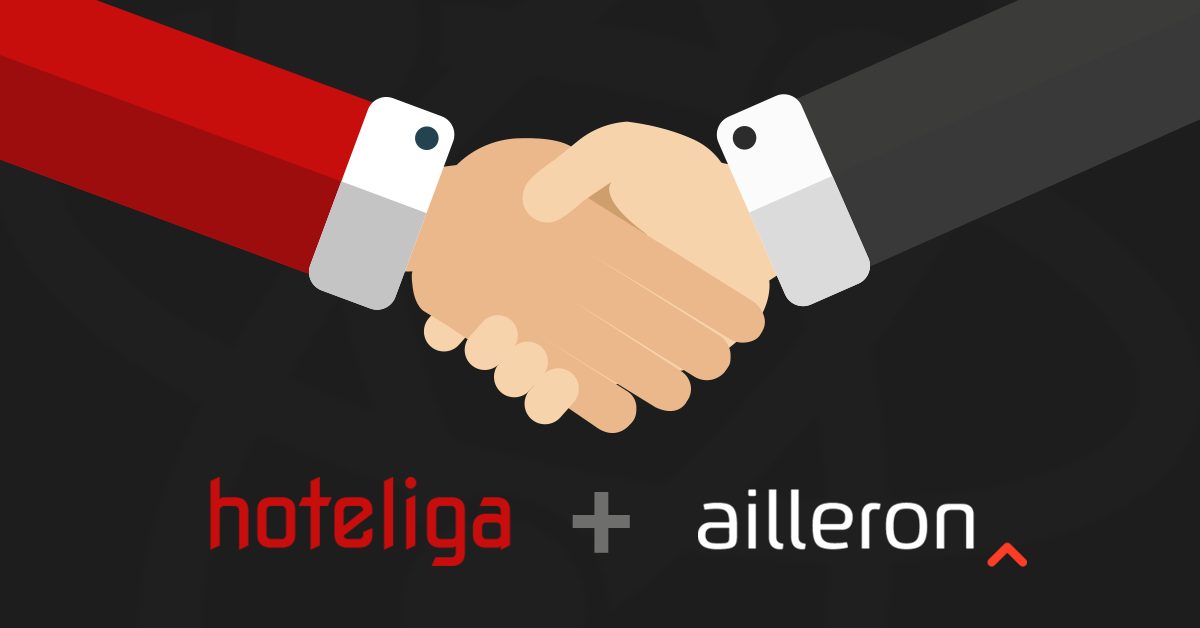 Ailleron invests in hoteliga