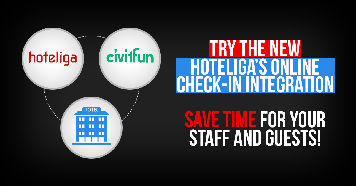 hoteliga and Civitfun New Business Partnership
