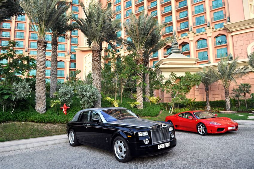 Hotels That Will Have You Riding in Incredible Luxury Cars